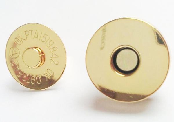 Типичные сумочные круглые магниты