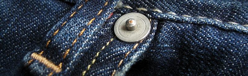 Традиционно заклепки используются припошиве джинсов